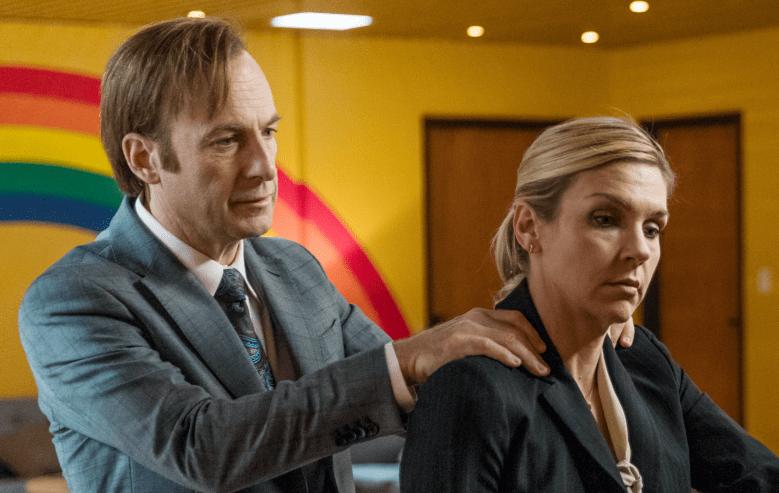 """Bob Odenkirk, Rhea Seehorn in """"Better Call Saul"""""""