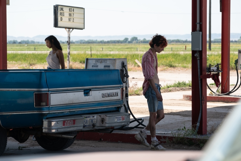 """Timothée Chalamet and Taylor Russell star in Luca Guadagnino's """"Bones and All."""""""