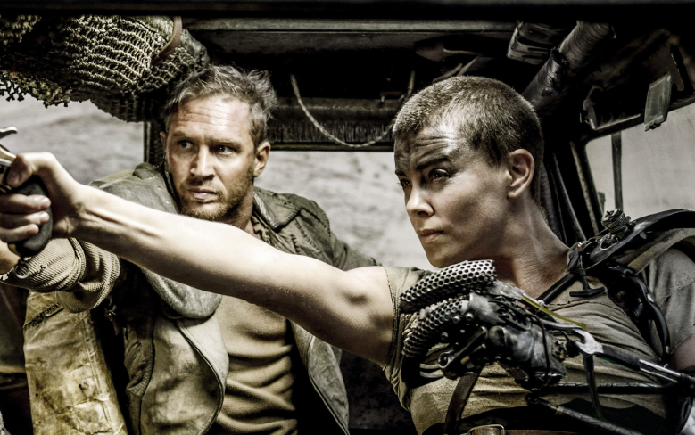 """Tom Hardy and Charlize Theron, """"Mad Max: Fury Road"""""""