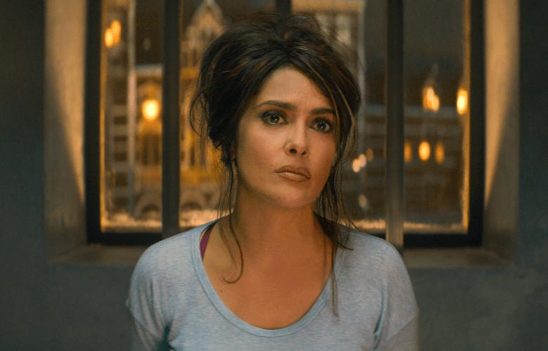 """Salma Hayek in """"The Hitman's Bodyguard"""""""