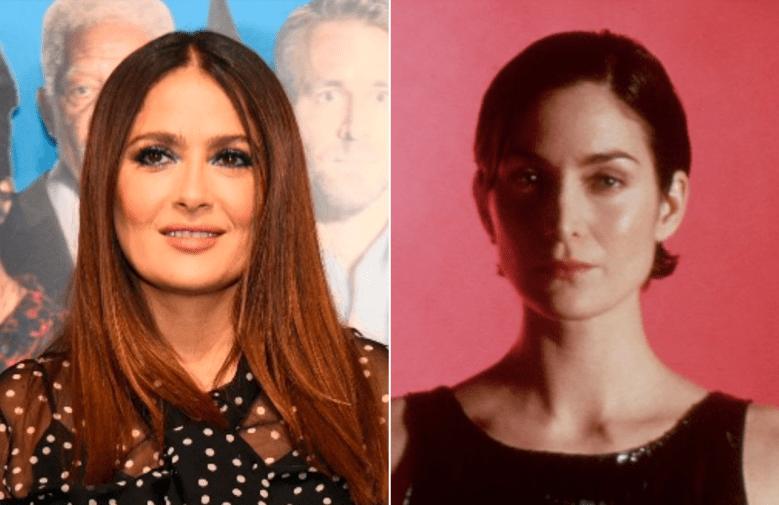 "Salma Hayek, Carrie-Ann Moss in ""The Matrix"""