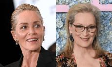 Sharon Stone and Meryl Streep