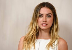 Ana de Armas arrives at the 15th annual Hammer Museum Gala in the Garden on Saturday, Oct. 14, 2017, in Los Angeles. (Photo by Jordan Strauss/Invision/AP)