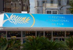 Preparation of the 71st annual Cannes Film Festival, Palais des Festivals, La Croisette Cannes FRANCE - 06/05/2018 (Sipa via AP Images)