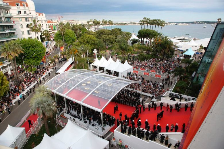 Atmosphere during the opening ceremony and premiere of The Dead Don't Die, during the 72nd Cannes Film Festival, on May 14, 2019 in Cannes, France. Photo by Jerome Domine/Abaca/Sipa USA(Sipa via AP Images)