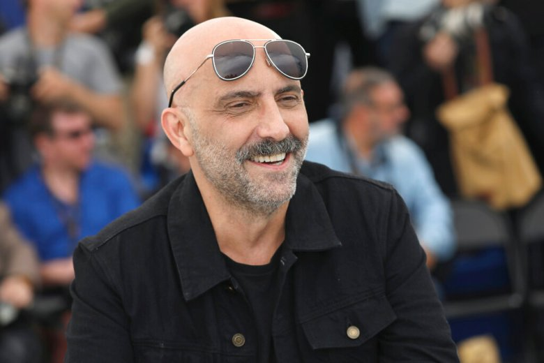 Gaspar Noe poses for photographers at the photo call for the film 'Lux Aeterna' at the 72nd international film festival, Cannes, southern France, Sunday, May 19, 2019. (Photo by Vianney Le Caer/Invision/AP)