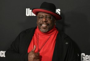 """Cedric the Entertainer attends the LA premiere of """"Uncut Gems"""" at ArcLight Hollywood on Wednesday, Dec. 11, 2019, in Los Angeles. (Photo by Richard Shotwell/Invision/AP)"""