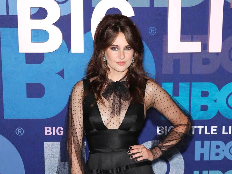 """FEBRUARY 7th 2021: Actress Shailene Woodley and Aaron Rodgers - NFL quarterback for the Green Bay Packers - are reportedly engaged to be married. - File Photo by: zz/John Nacion/STAR MAX/IPx 2019 5/29/19 Shailene Woodley at the HBO Television Network season 2 premiere of """"Big Little Lies"""" held on May 29, 2019 at Jazz at Lincoln Center in New York City. (NYC)"""