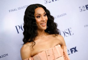 """Actor Mj Rodriguez attends FX's """"Pose"""" third and finale season premiere at Jazz at Lincoln Center on Thursday, April 29, 2021, in New York. (Photo by Evan Agostini/Invision/AP)"""