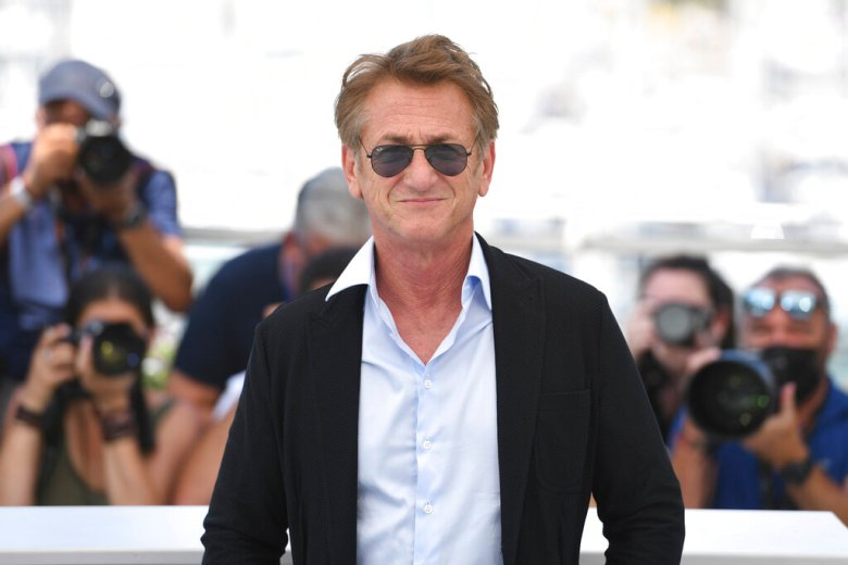 Sean Penn at the photocall for the film Flag Day during the 74th Festival de Cannes - Cannes Film Festival at the Palais du Festival on the Croisette in Cannes, France on July 11, 2021. *** Local Caption *** (Photo by ddp images/Sipa USA)(Sipa via AP Images)