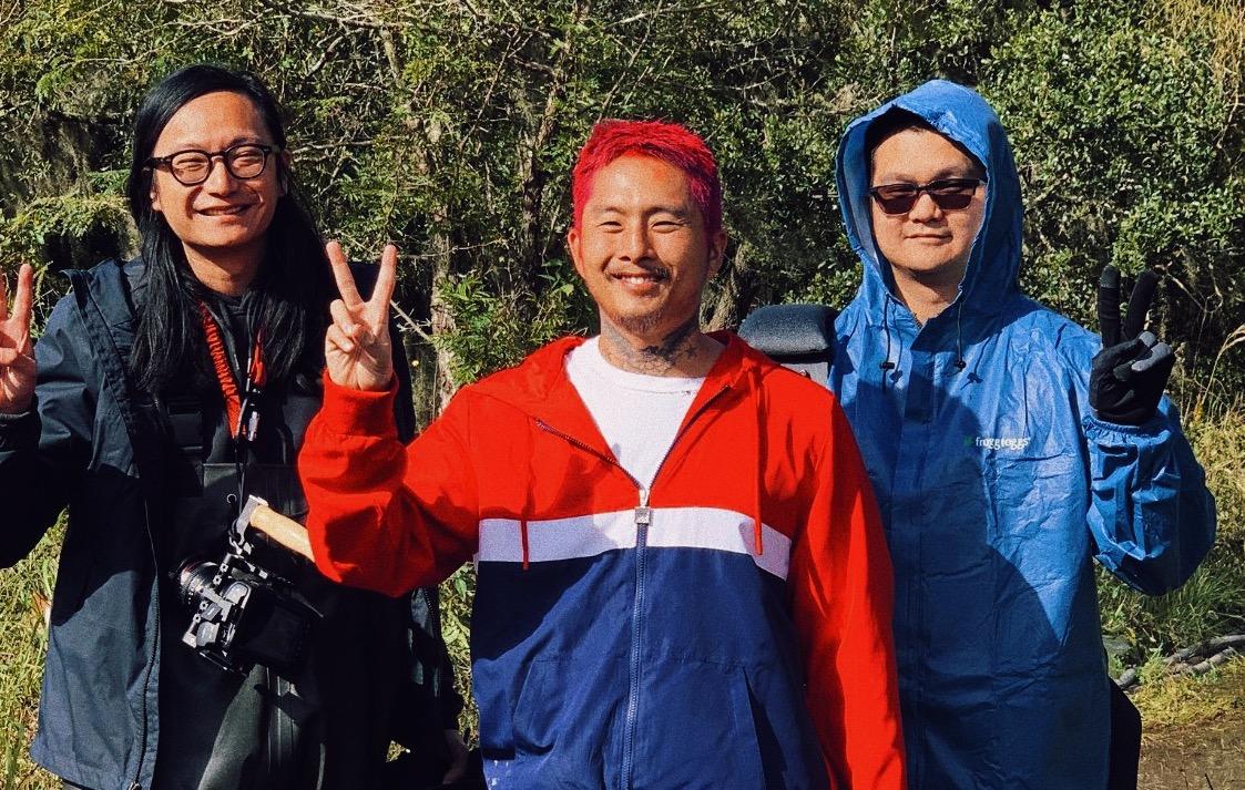 """Blue Bayou"" co-cinematographer Matthew Chuang, director Justin Chon, co-cinematographer Ante Cheng"