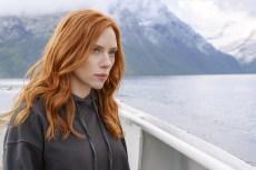 BLACK WIDOW, Scarlett Johansson as Black Widow, 2021.  ph: Jay Maidment /© Walt Disney Studios Motion Pictures / © Marvel Studios / Courtesy Everett Collection