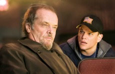 THE DEPARTED, Matt Damon, Jack Nicholson, 2006, ©Warner Bros./courtesy Everett Collection