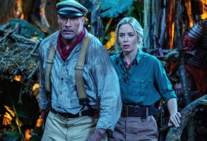 JUNGLE CRUISE, from left: Dwayne Johnson, Emily Blunt, 2021. © Walt Disney Studios Motion Pictures / Courtesy Everett Collection