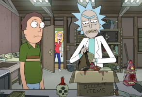Rick and Morty Amortycan Grickfitti