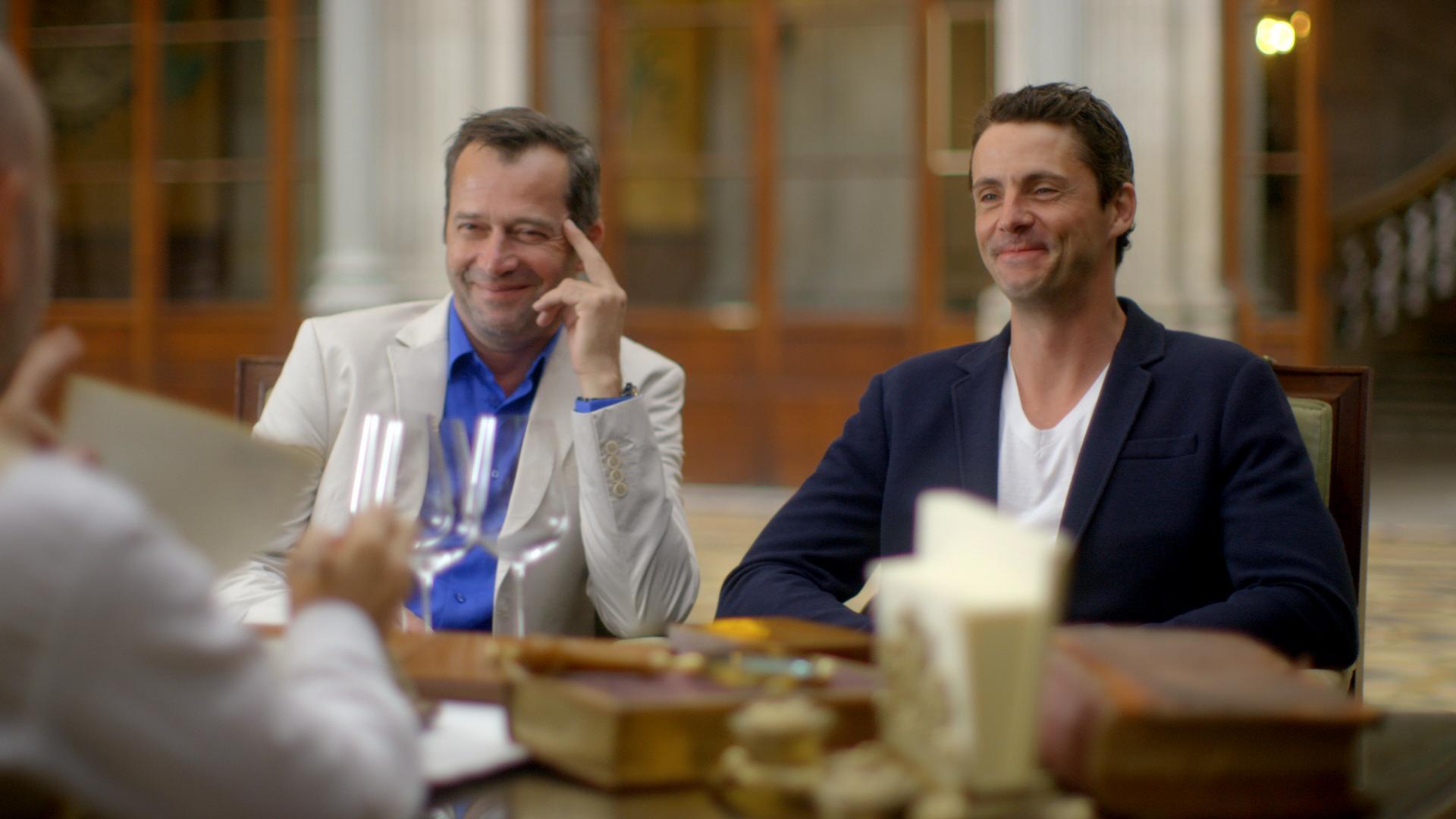 The Wine Show Season 3 Matthew Goode James Purefoy