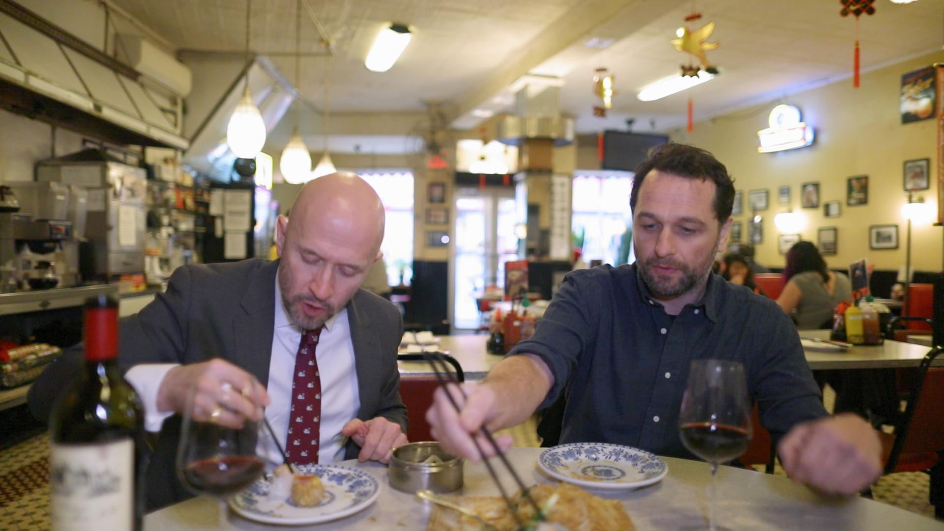 The Wine Show Season 3 Matthew Rhys Joe Fattorini