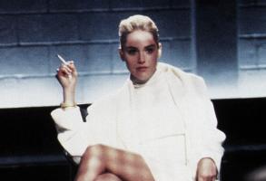 """Sharon Stone, """"Basic Instinct"""""""