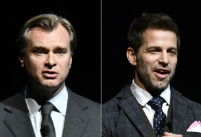 Christopher Nolan and Zack Snyder