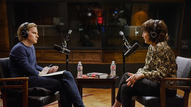 Ronan Farrow and Kim Masters