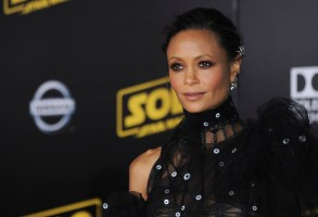 Thandie Newton at arrivals for SOLO: A STAR WARS STORY Premiere, El Capitan Theatre, Los Angeles, CA May 10, 2018. Photo By: Elizabeth Goodenough/Everett Collection