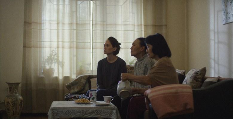 Assol Abdullina, Zhamilya Sydykbaeva, Jamal Seidakmatova