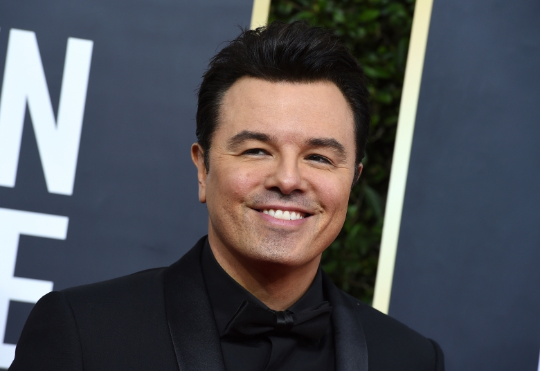 Seth MacFarlane arrives at the 77th annual Golden Globe Awards at the Beverly Hilton Hotel on Sunday, Jan. 5, 2020, in Beverly Hills, Calif. (Photo by Jordan Strauss/Invision/AP)