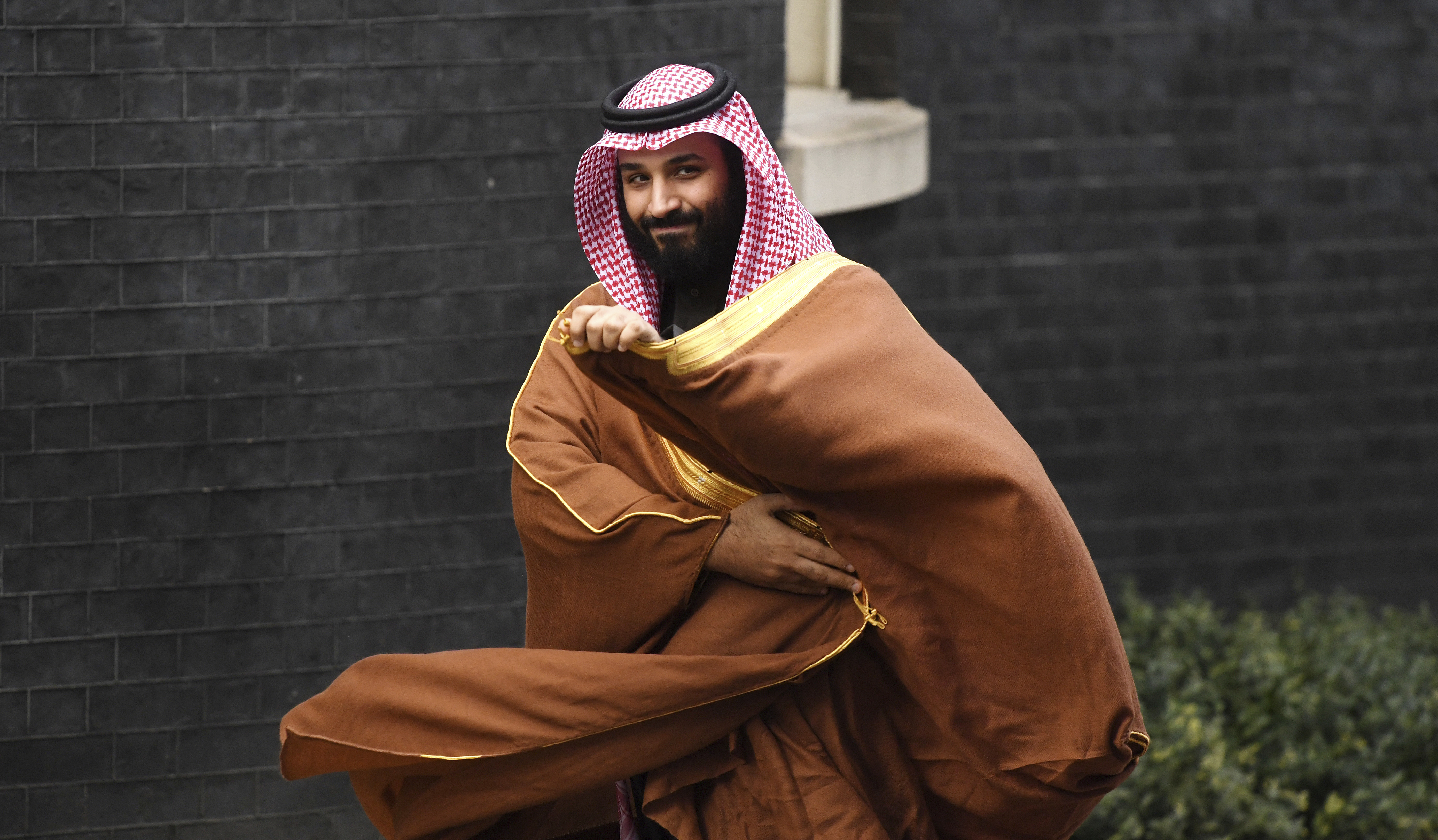 Mohammed bin Salman File Photo. File photo dated 07-03-2018 of Saudi Arabia's crown prince Mohammad bin Salman. Issue date: Tuesday April 21, 2020. Amnesty International has written to the Premier League saying it 'risks becoming a patsy' unless it takes a serious look at Saudi Arabia's human rights record with regard to the takeover of Newcastle. The north-east club are reportedly on the verge of being sold to a Saudi-backed consortium which involves Crown Prince Mohammed bin Salman for around '300million. See PA story SOCCER Newcastle. Photo credit should read Victoria Jones/PA Wire. URN:53486321 (Press Association via AP Images)