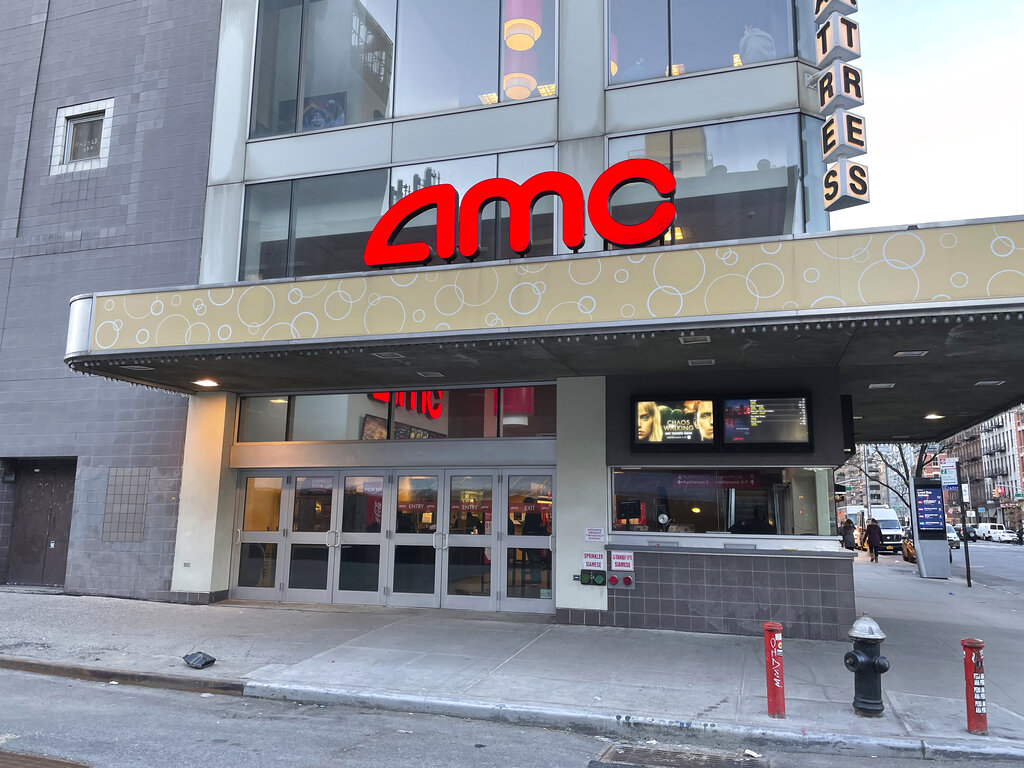 Photo by: STRF/STAR MAX/IPx 2021 3/5/21 Movie Theaters in New York City reopened today at 25%, capacity after months of being closed due to the Coronavirus pandemic.