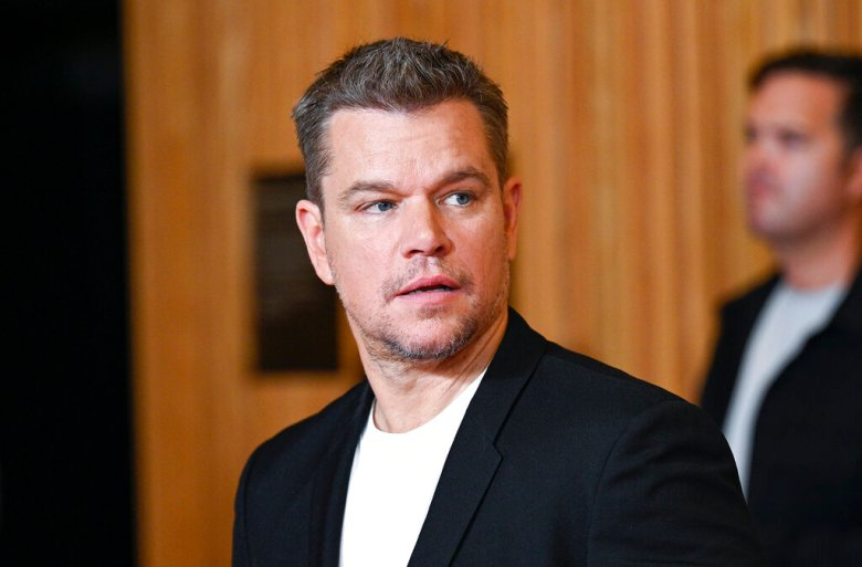 """Actor Matt Damon attends the premiere of """"Stillwater"""" at Rose Theatre at Jazz at Lincoln Center on Monday, July 26, 2021, in New York. (Photo by Evan Agostini/Invision/AP)"""