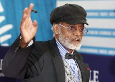 U.S director, actor, screenwriter Melvin Van Peebles is seen during a tribute for his career at the 38th American Film Festival in Deauville, Normandy, France, Wednesday Sept. 5, 2012. (AP Photo/Michel Spingler)