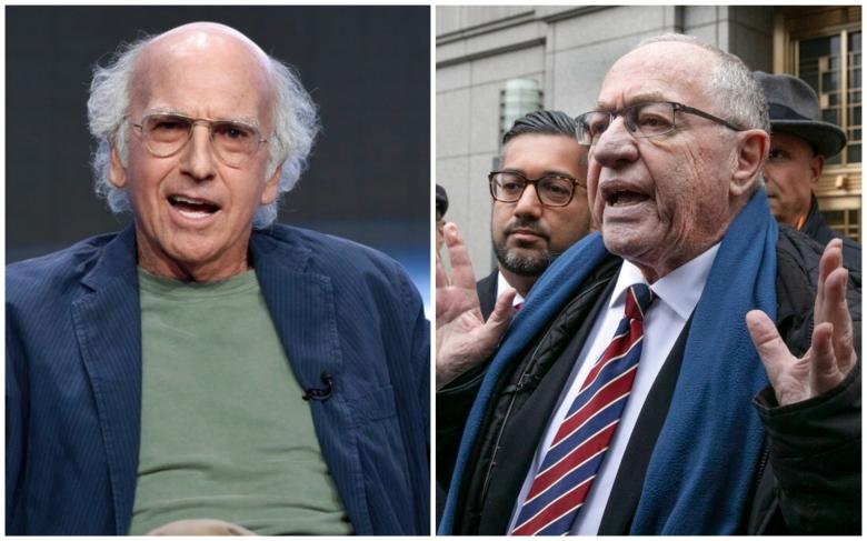 Larry David, Alan Dershowitz