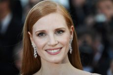 US actress and member of the Feature Film jury Jessica Chastain poses as she arrives on May 19, 2017 for the screening of the film 'Okja' at the 70th edition of the Cannes Film Festival in Cannes, southern France.  / AFP PHOTO / Anne-Christine POUJOULAT        (Photo credit should read ANNE-CHRISTINE POUJOULAT/AFP via Getty Images)