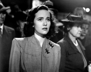 SHADOW OF A DOUBT, Teresa Wright, 1943