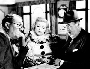 BRIGHTON ROCK, from left: Basil Cunard, Hermione Baddeley, George Carney, 1947