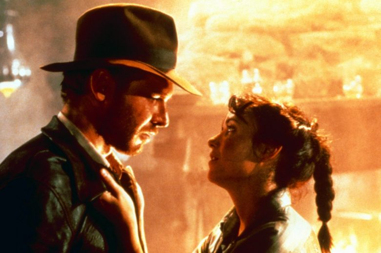 RAIDERS OF THE LOST ARK, (aka INDIANA JONES AND THE RAIDERS OF THE LOST ARK), from left: Harrison Ford as Indiana Jones, Karen Allen, 1981. ©Paramount Pictures/courtesy Everett Collection