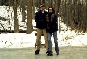 AT FIRST SIGHT, Val Kilmer, Mira Sorvino, 1999, ice skating