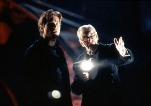 BATMAN FOREVER, Val Kilmer, Michael Gough, 1995, (c)Warner Bros./courtesy Everett Collection