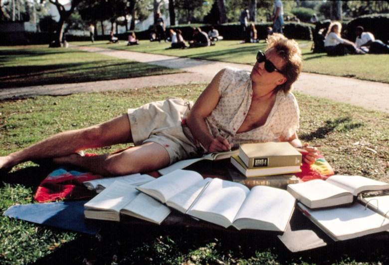 REAL GENIUS, Val Kilmer, 1985.