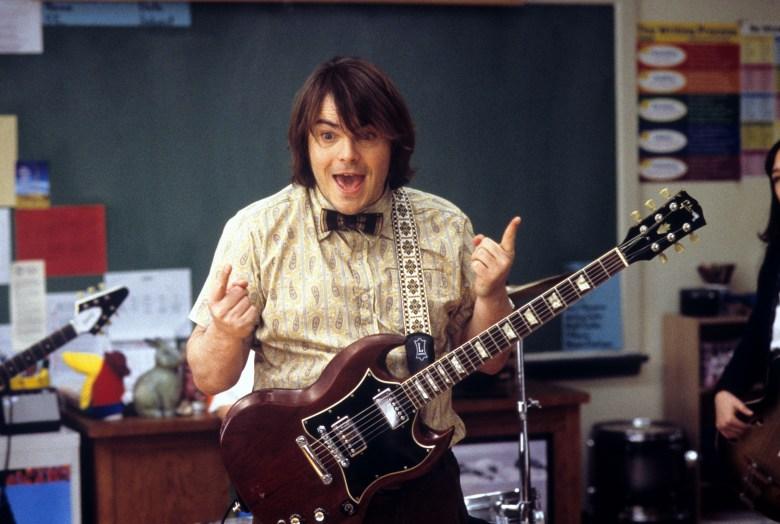 "Jack Black, ""School of Rock"""