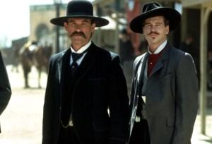 TOMBSTONE, Kurt Russell, Val Kilmer, 1993