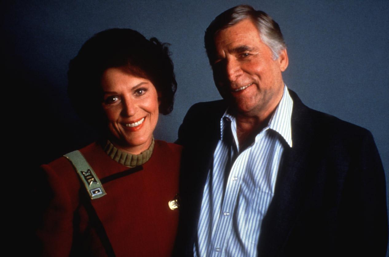STAR TREK IV, Majel Barrett, Gene Roddenberry, 1986