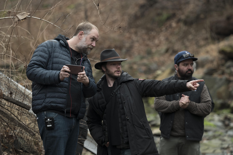 Mare of Easttown cinematographer Ben Richardson director Craig Zobel.