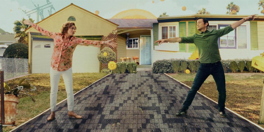 "Joseph Gordon-Levitt in ""Mr. Corman"" with Debra WingerApple TV+ TV show"