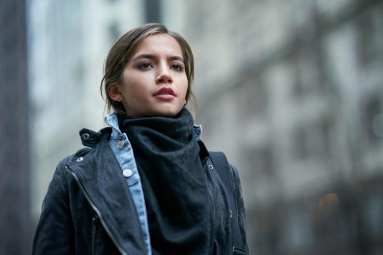 SWEET GIRL: ISABELA MERCED as RACHEL. CLAY ENOS/NETFLIX© 2021