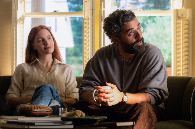Scenes from a Marriage HBO Oscar Isaac and Jessica Chastain