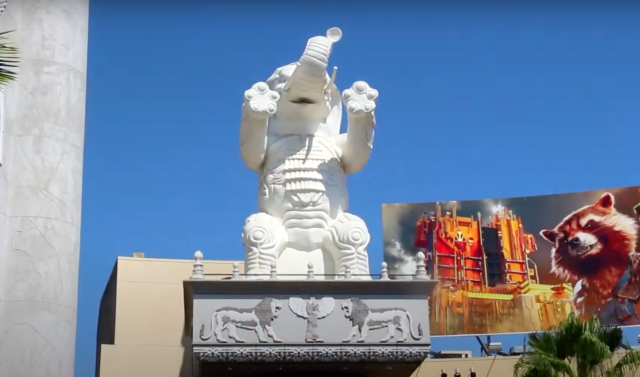 Hollywood & Highland Removing Elephant Statues Honoring Legacy of Racist Director D. W. Griffith
