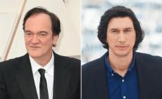 Quentin Tarantino and Adam Driver