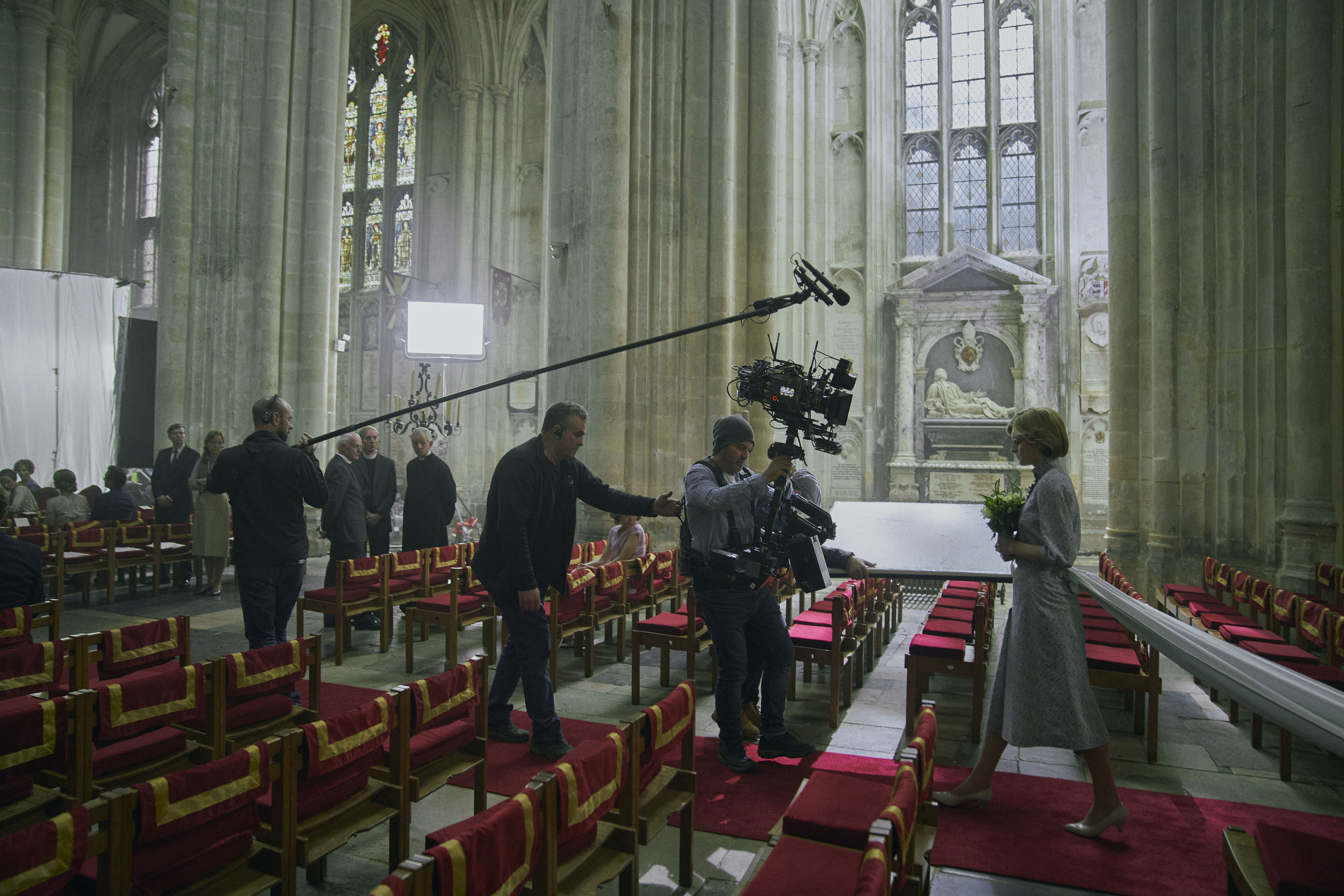 The Crown S4 BEHIND THE SCENES