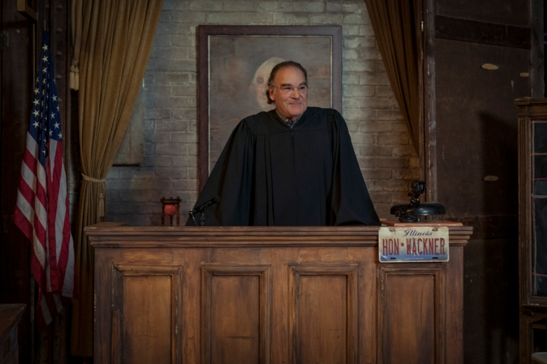 """""""And the violence spread.""""-- Epi# 510-- Mandy Patinkin as Hal Wackner of the Paramount+ series THE GOOD FIGHT. Photo: Elizabeth Fisher©2021 Paramount+, Inc. All Rights Reserved."""